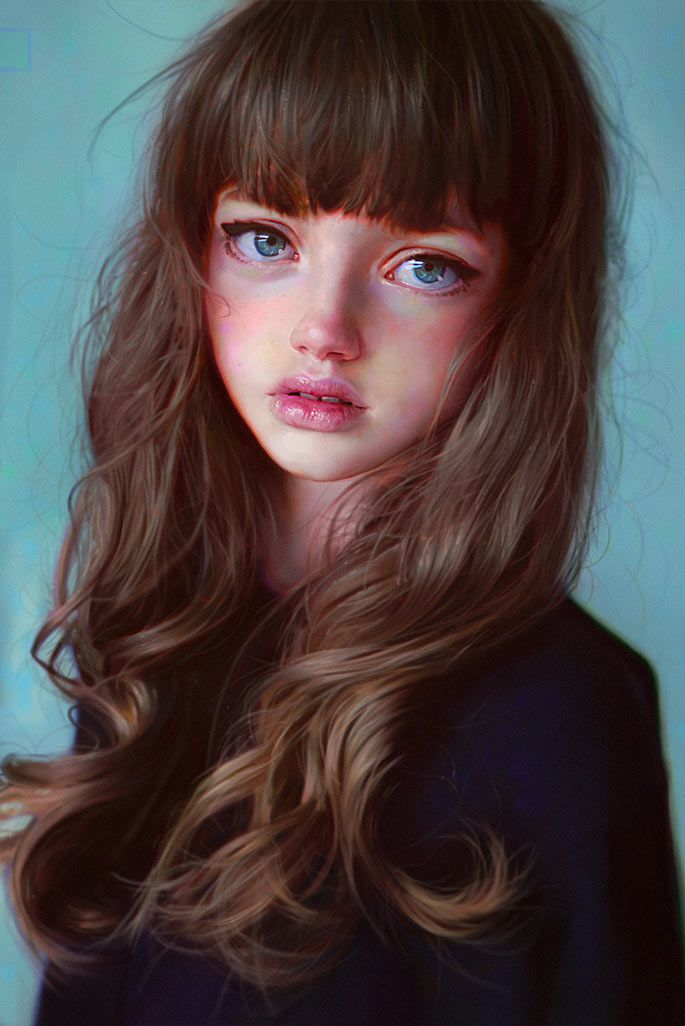 Paintable.cc | 50 Stunning Digital Painting Portraits: Irakli Nadar #digitalpainting #portrait #inspiration