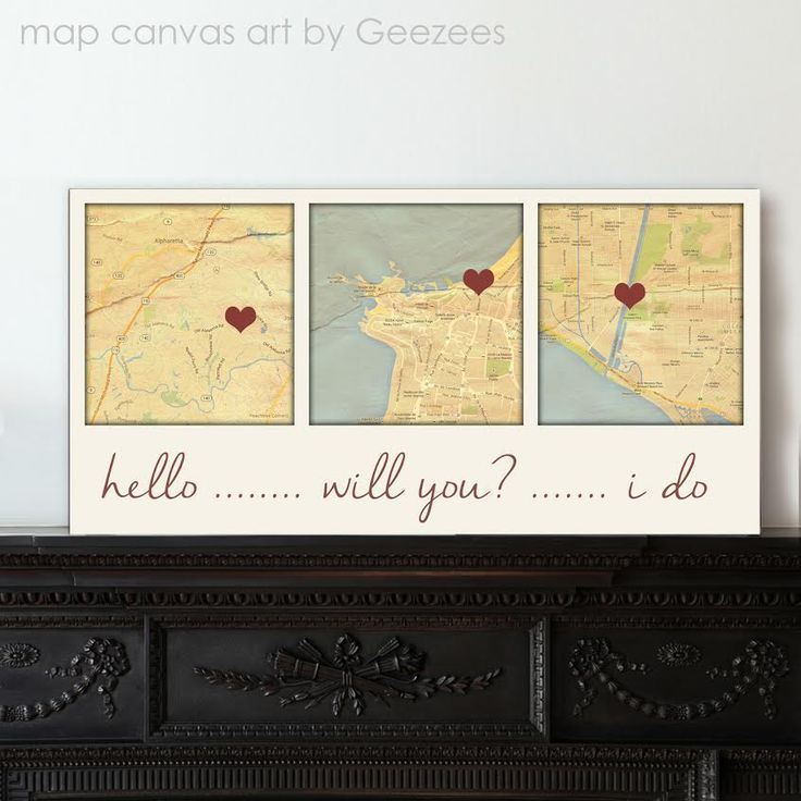 744 best Wedding Gifts images on Pinterest | Anniversary gifts ...