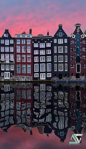Reflection, Amsterdam, Holland