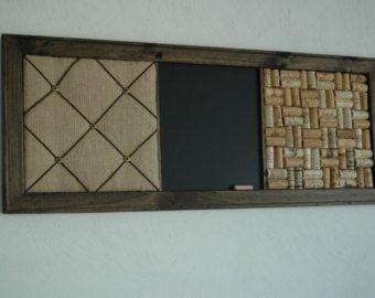 french memo board corkboard wall by