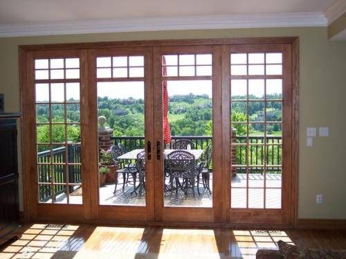 17 best ideas about exterior french doors on pinterest for Six foot sliding glass door