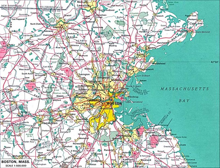 Best Boston Map Ideas On Pinterest - Us map boston