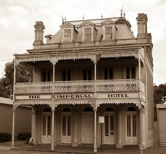 The Imperial Hotel, Castlemaine, Victoria by Ian Williams  Phryne stays in the Imperial Hotel when she visits Castlemaine.