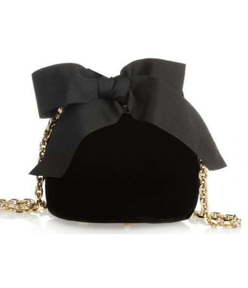NET-A-PORTER - Delphine Delafon Velvet Shoulder Bag