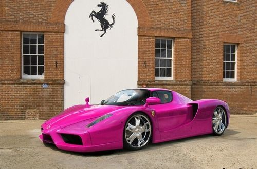 Incredible Pink Ferrari Enzo - Click on the cool pic & join