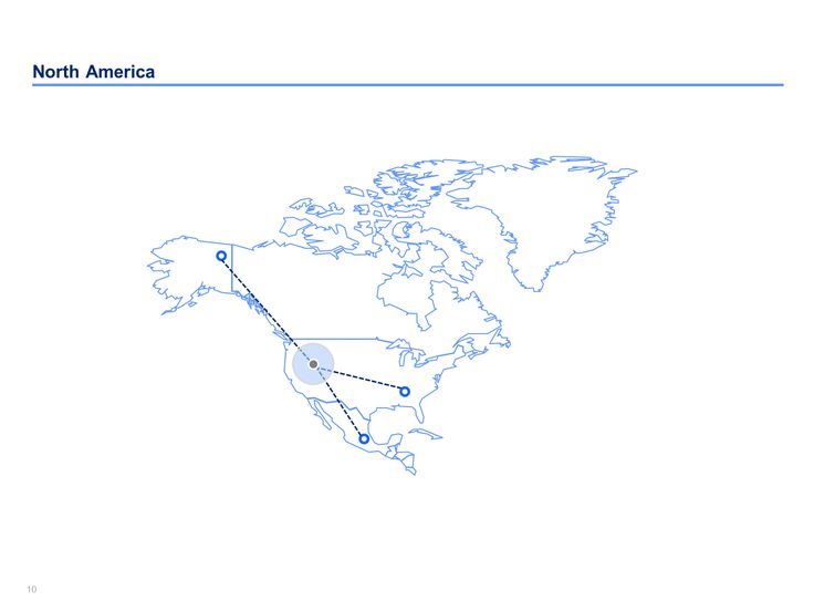 13 best images about powerpoint north america map templates on north america map templates ppt north america toneelgroepblik Images