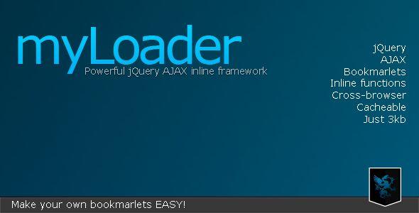 myLoader - Powerful inline AJAX framework . myLoader is a powerful jQuery AJAX framework who helps you to make inline AJAX calls and / or construct