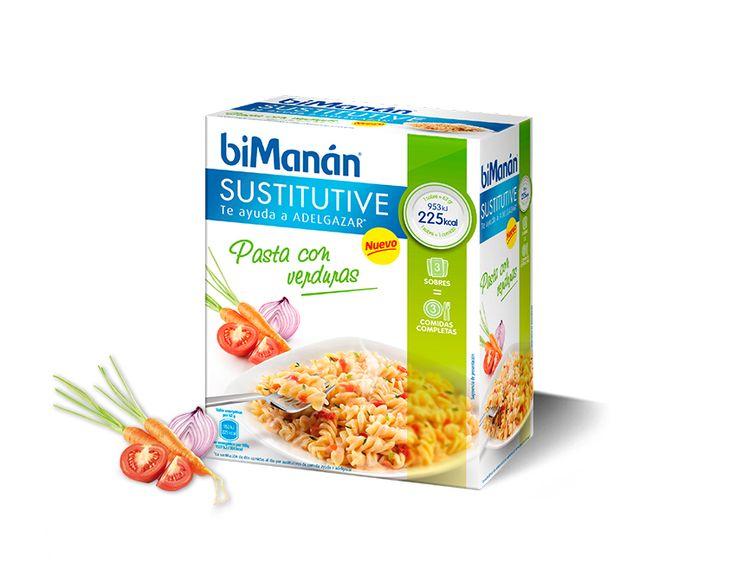 Pasta con Verduras #biManánSustitutive