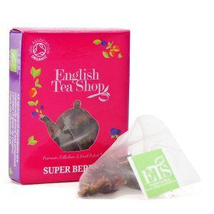 English Tea Shop - Thé rooibos aux fruits rouges bio - sachet individuel