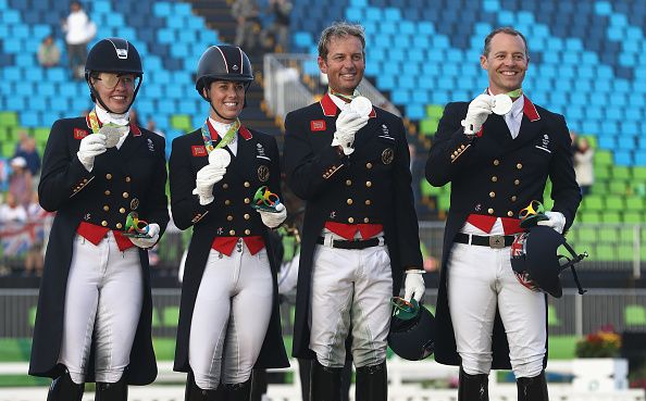 Equestrian dressage silver for Team GB at Rio 2016