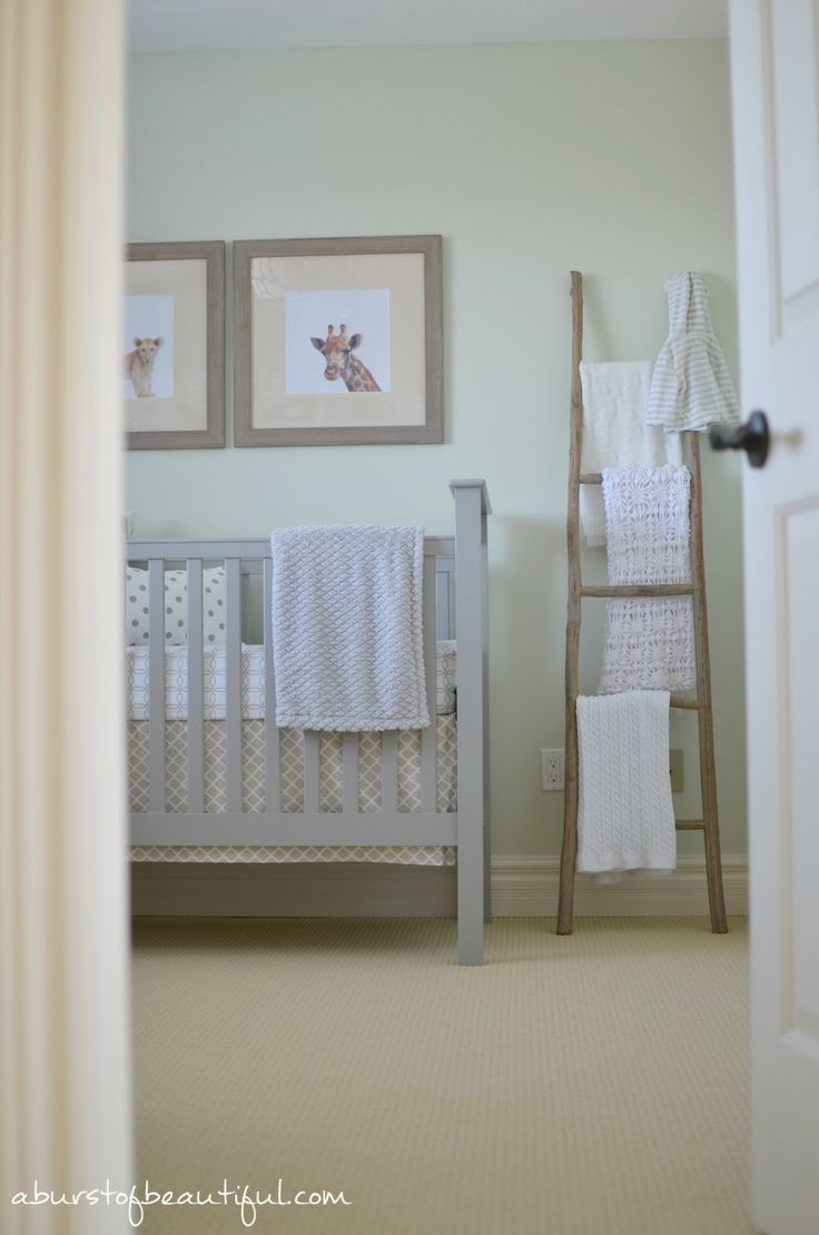 A Burst of Beautiful: Gender Neutral Safari Nursery