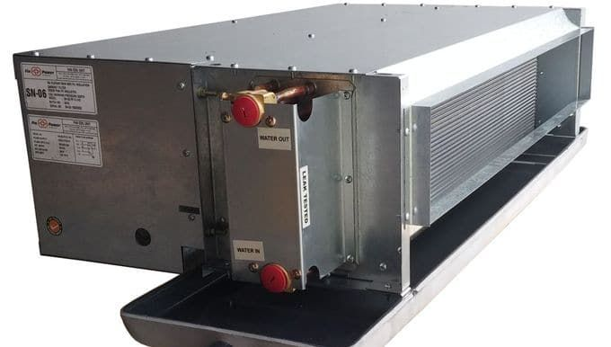 Fcu Externally Very Similar To The Indoor Units Of Split Systems Water Cooled Blocks Chillers Perform Function Of Externa Fan Coil Unit Air Heating The Unit