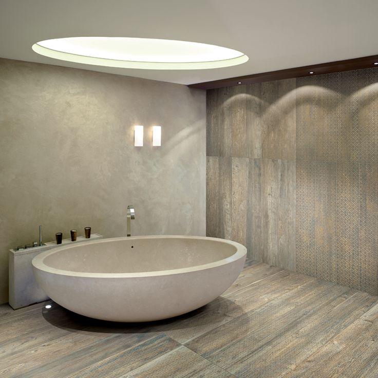 Larix Natural - Ceramiche Refin S.p.A. - Timber Porcelain Wood Effect Tiles.