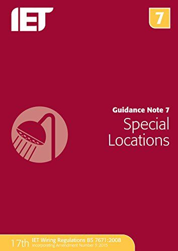 From 21.49:Guidance Note 7: Special Locations (electrical Regulations)