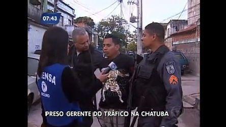 Polícia prende gerente do tráfico da Chatuba, em Mesquita (RJ) - Vídeos - R7