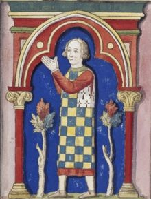(Breton: Yann Iañ ar Ruz, French: Jean I le Roux; c. 1217/18 – 8 October 1286), due to the colour of his beard, was Duke of Brittany from 1237 to his death and 2nd Earl of Richmond in 1268. He was the son of Duke Peter I, Duke of Brittany jure uxoris and Alix of Thouars, hereditary Duchess of Brittany.He experienced a number of conflicts with the Bishop of Nantes and the Breton clergy.He joined Louis IX of France in the Eighth Crusade in 1270, and survived the plague that killed the king.