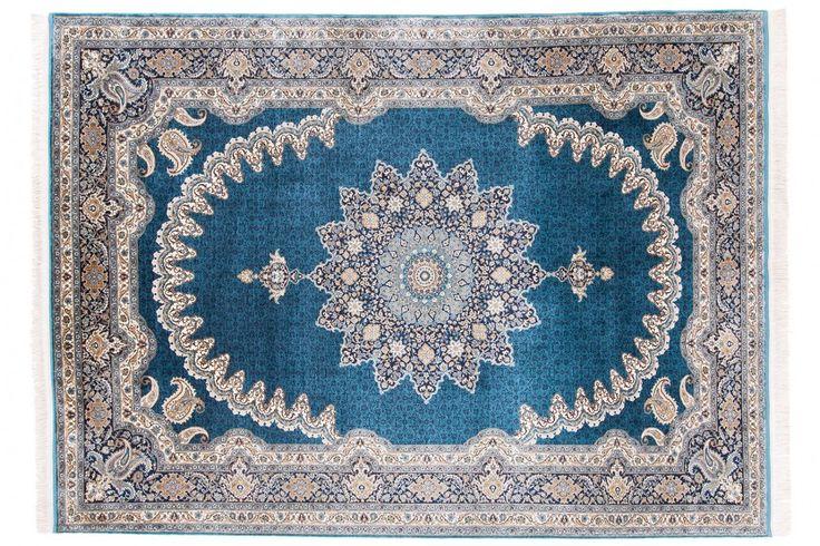Turkish Shahrazat Silk Rug