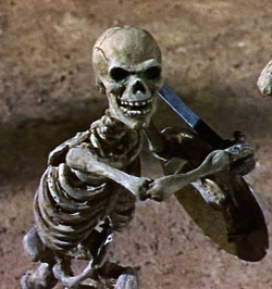 Jason and the Argonauts - Skeleton Warrior, courtesy of the great Ray Harryhausen