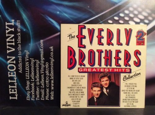 The Everly Brothers Greatest Hits Double LP Vinyl Album PDA063 Pop 50's 60's Music:Records:Albums/ LPs:Pop & Beat: 1960s:Pop: 1960s