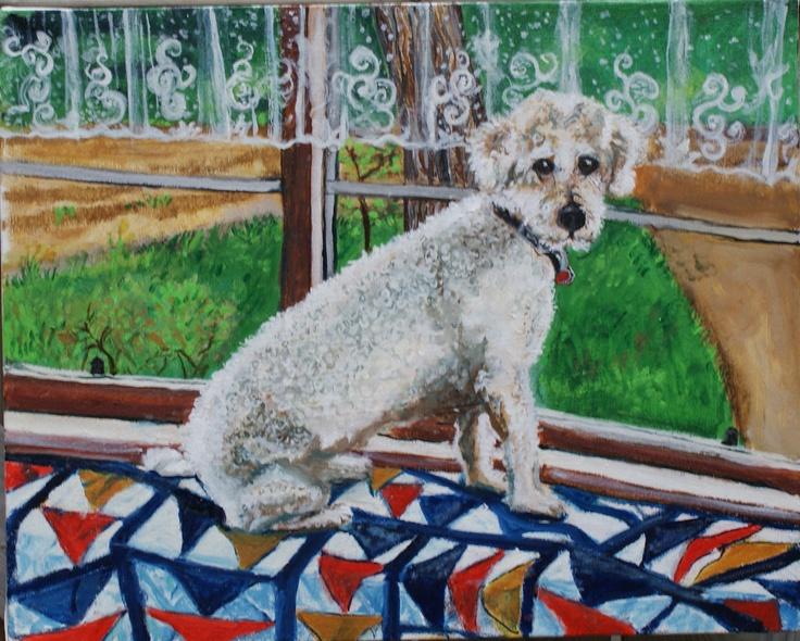 Jesse - oil on canvas