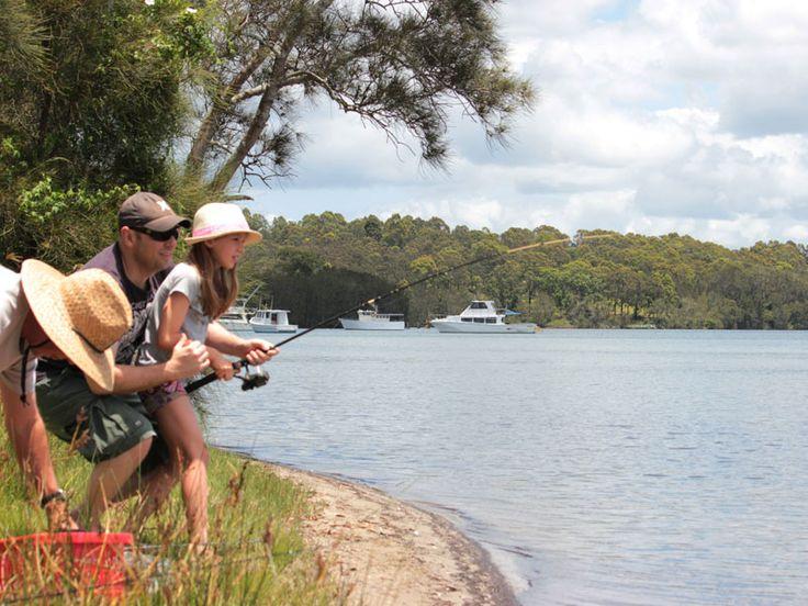 fishing, wallis lake coomba