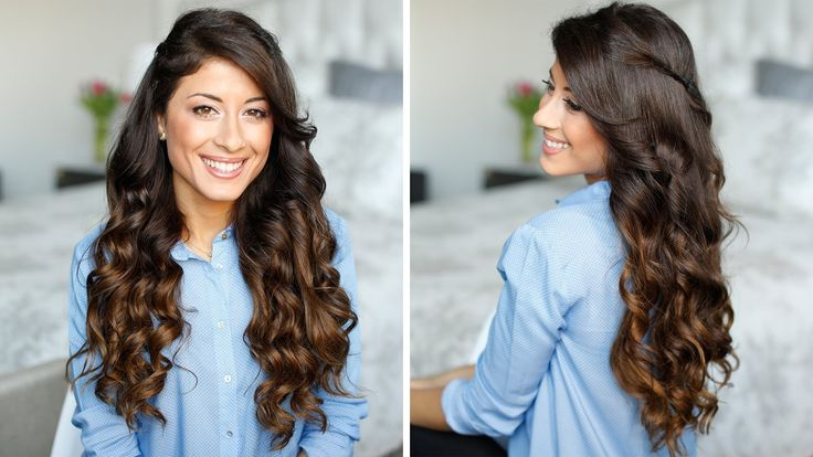 How to Curl Your Hair in 5 Minutes: tried it, loved it. She does exaggerate. You still need to take no more than 2-in. sections, but it really was SO fast and looked very natural.