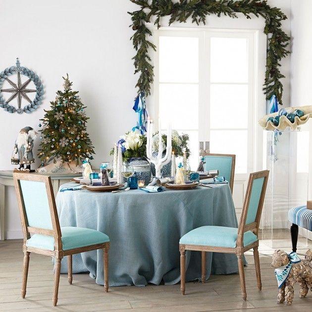 Noël en bleu - Mille mètres carrées