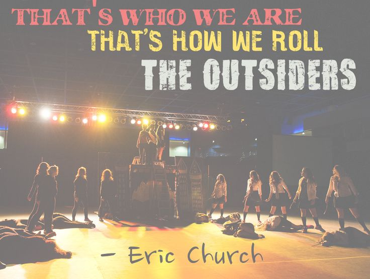 """The Outsiders"" Eric Church Love. Love. Love. Love times a million trillion."