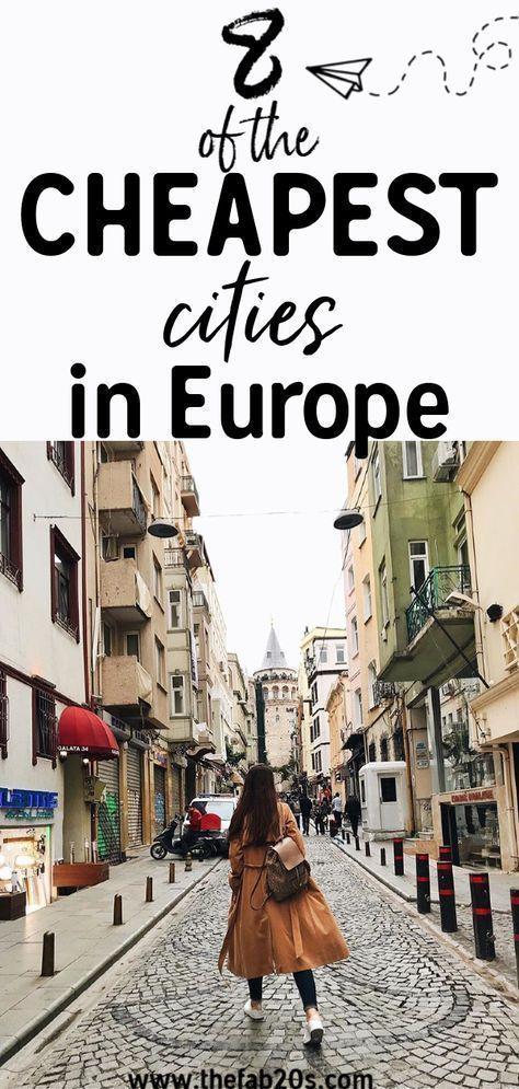 8 der günstigsten Städte, die Sie in Europa besuchen müssen