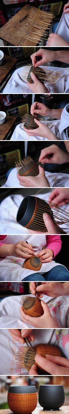 DIY Vase diy crafts craft ideas easy crafts diy ideas diy idea diy home diy vase easy diy for the home crafty decor home ideas diy decorations