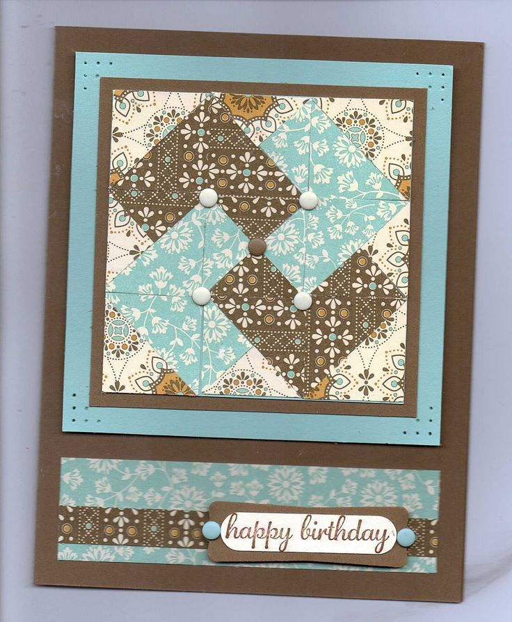 66 best Paper Scrap Cards Crafts images – Birthday Card Trick