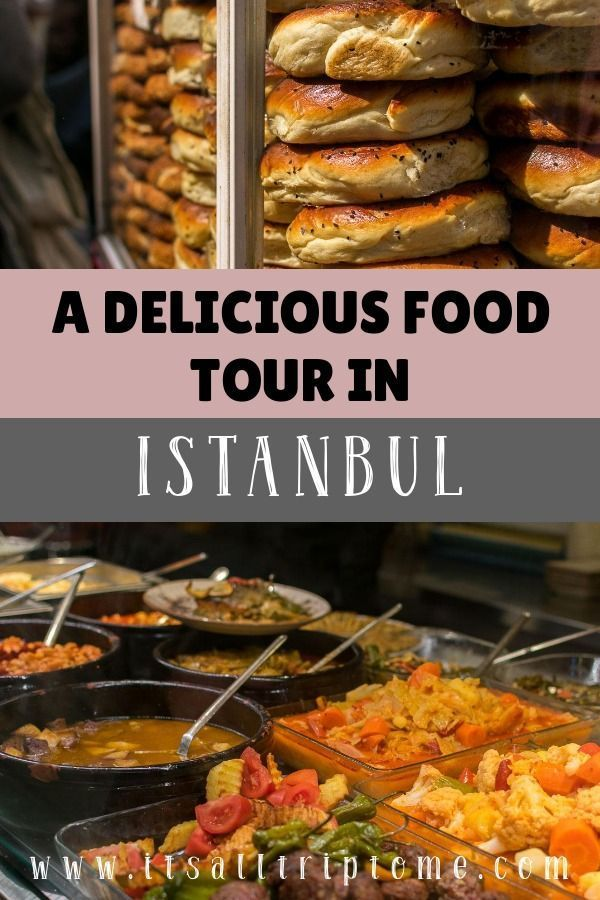 A delicious food tour in Istanbul Turkey