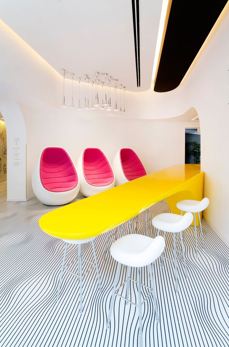 The new Poli House boutique hotel, which underwent a three-year restoration, got the Karim Rashid touch with brightly colored interiors to greet guests.