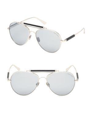 a69485a17da67 TOM FORD No. 16 60MM Round Aviator Sunglasses.  tomford