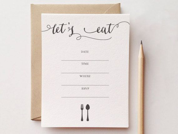 Best Dinner Party Invitations Images On   Dinner