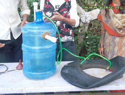 Biodigestor usando un garrafón