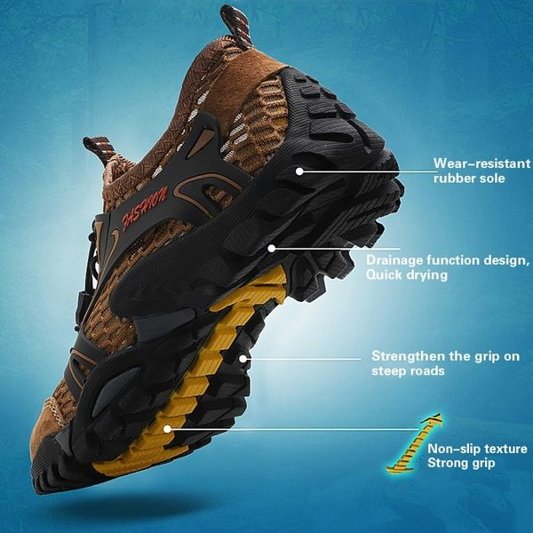Plus Size Hiking Shoes for Men Trail