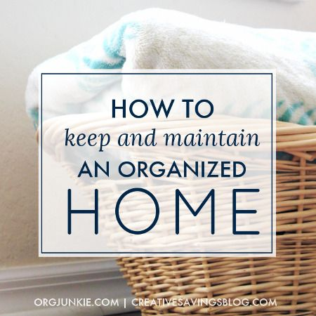 328621a18f Pinterest Weekly Round Up - Home Organization Maintenance - Organize 365 -