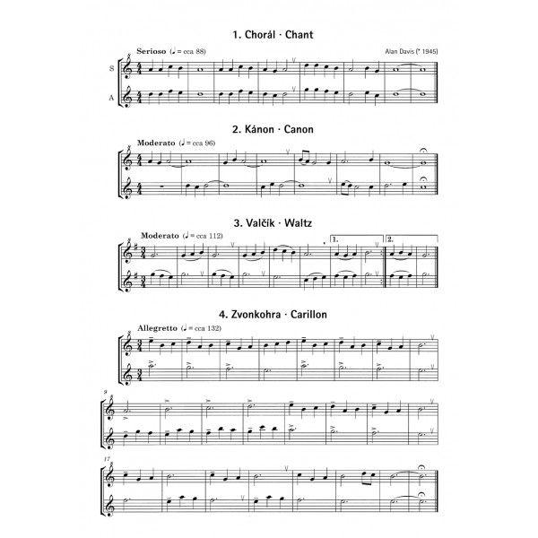duet pro zobcovou flétnu noty - Hledat Googlem