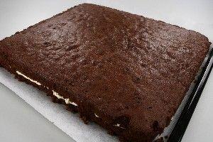 Chokoladekage med smørcréme, (Bradepandekage) 4