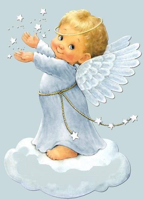 Resultado de imagen para angeles celestiales bebes