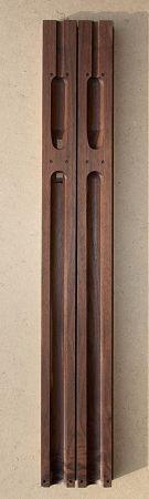 30 INCH CNC CUT - Walnut Flute Blank