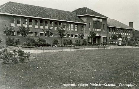 Kazernes , kampen en legerplaatsen : Arnhem