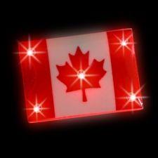 Light-Up Canada Flag-IPROMOTEU - TOA DESIGN, PRINT & PROMOTE
