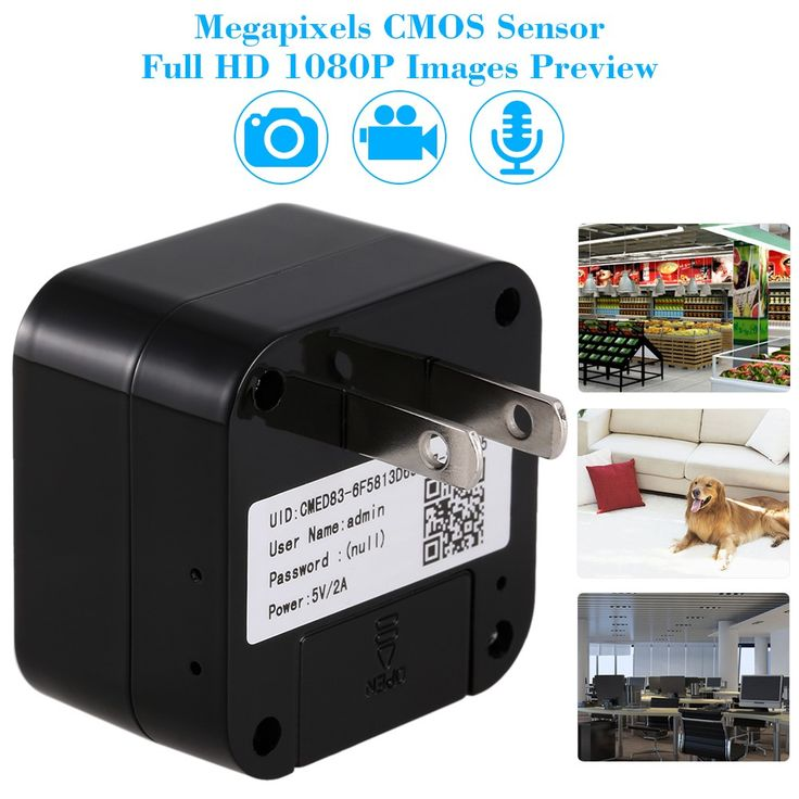 Only US$52.26, Full HD 1080P Megapixels Wireless WiFi Charger Hidden Spy Cam - Tomtop.com