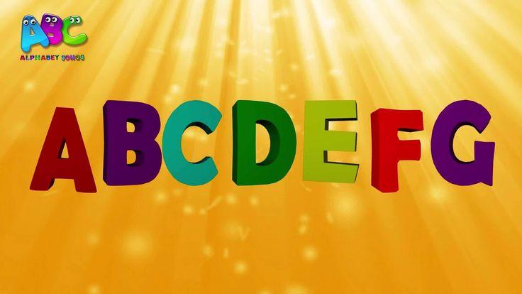 French alphabet - L'alphabet en Français (la chanson de l'alphabet) - Comptine