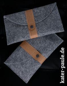 Filztaschen mit SnapPap   DIY   Nähen   Bastelfilz