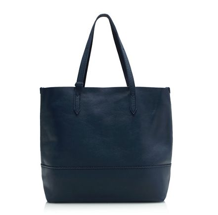 Jcrew Leather Tote Bag