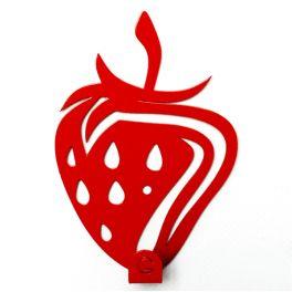 Вешалка настенная Glozis Strawberry