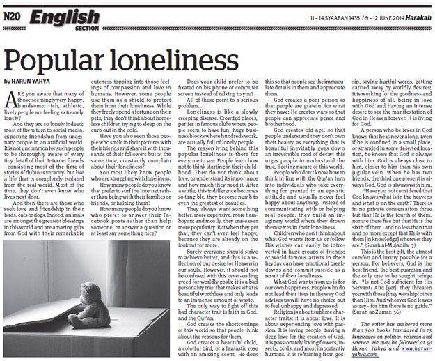 Popüler yalnızlık